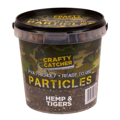 Crafty Catcher Prepared Particles 1,1Liter Hemp & Tigers