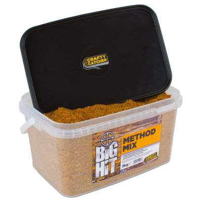 Crafty Catcher Big Hit Mixes Method Mix 3kg Spod Mix, Crafty Catcher Big Hit Method Mix 3kg
