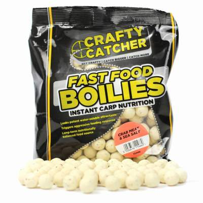 Crafty Catcher Fast Food Crab meat & Sea Salt 500g 15mm Boilie