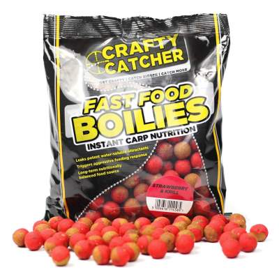 Crafty Catcher Fast Food Strawberry & Krill 15mm Boilie