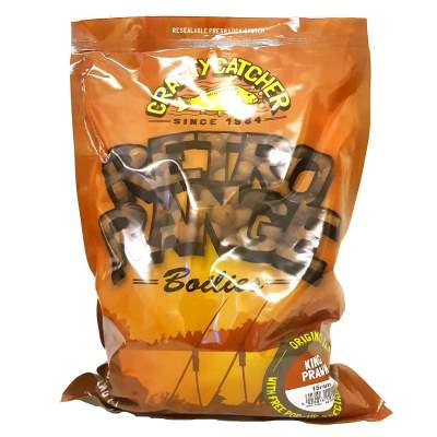 Crafty Catcher Retro Range King Prawn Boilies 15mm,