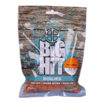 Crafty Catcher Big Hit Boilies 250g Boilie, 10mm - Tutti Frutti