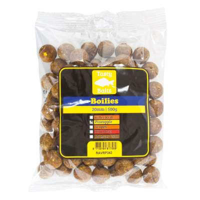 Tasty Baits Boilies 20mm 500g Pineapple