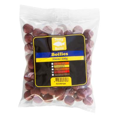 Tasty Baits Boilies 20mm 500g BBQ Meat