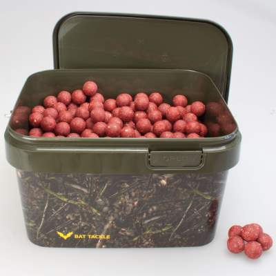 BAT-Tackle Böse Boilies im Realistric® Eimer, 2,5 kg, 18mm, Thrill-Krill