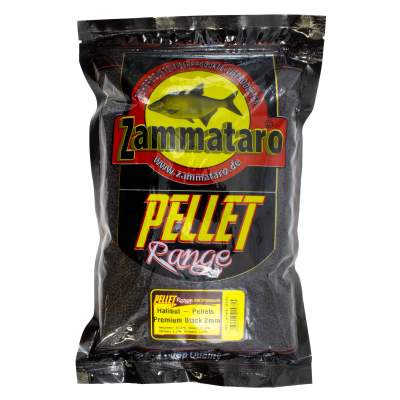 Zammataro Pellet Range Halibut Pellets - Premium Black Micropellets, 2,0 mm
