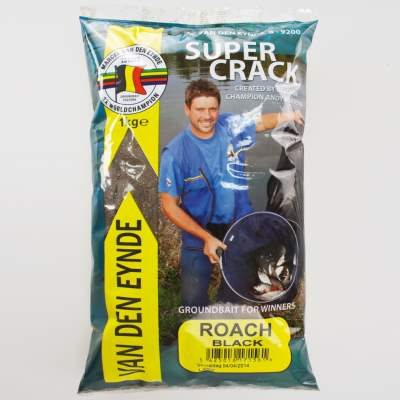 Van den Eynde Groundbait Super Crack Voorn black (Rotauge schwarz)