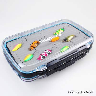 Troutlook Big Trout Set,Forellen Angelset Troutlook Big Trout Forellenset Rute Rolle Schnur Zubehör, 14tlg.