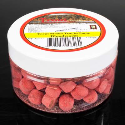 LFT Leonard Fishing Tackle Trout Steam Lockstoff Tracks 9mm 75g Bloodworm