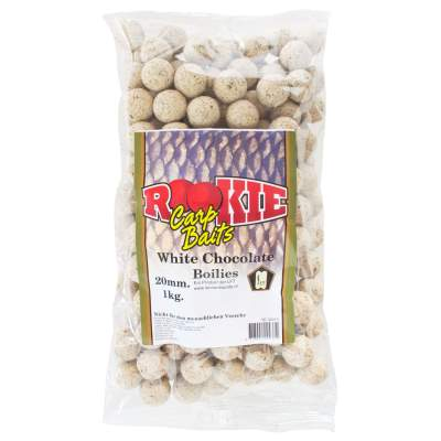 LFT Leonard Fishing Tackle Rookie Carp Boilies 20mm 1kg White Chocolate