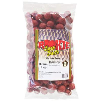 LFT Leonard Fishing Tackle Rookie Carp Boilies 20mm 1kg Strawberry