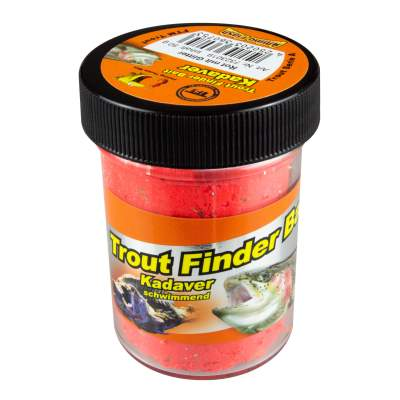 FTM TFT Trout Finder Bait Cookie Glitter Paste 50g Orange Schwimmend 7323035 Forellenteig Forellenpaste Teig Paste Forellenangeln