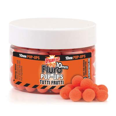 Dynamite Baits Tutti Frutti Fluo Pop- Up Boilies 15mm