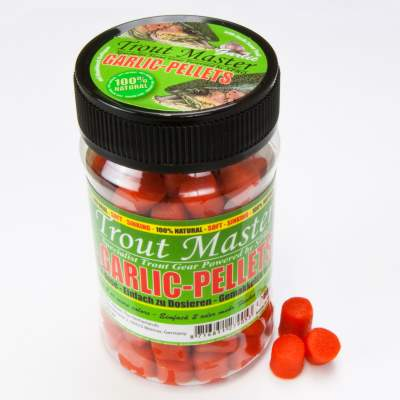 Spro Trout Master Forellen Pellets Garlic knetbar Orange
