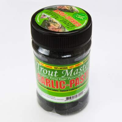 Spro Trout Master Garlic Paste Forellenteig Black (schwarz)