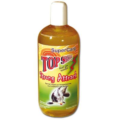 Top Secret Flüssiglockstoff Strong Attrack Special Liquid 500ml Supercarp (Karpfen)
