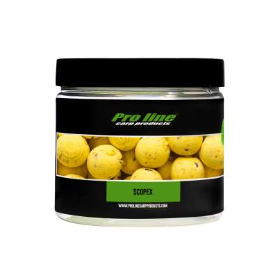 Pro line Readymades Pop-Ups Boilies, Scopex - gelb - 200ml - 15mm