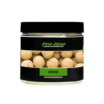 Pro line Readymades Pop-Ups Boilies, NuTrition - beige - 200ml - 15mm