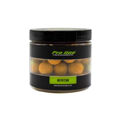 Pro line Readymades Coated Pop-Ups Core Boilies NuTrition - beige - 200ml - 15mm