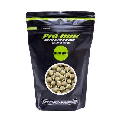 Pro line Readymades Boilies, The NG Squid - grün - 1kg - 20mm
