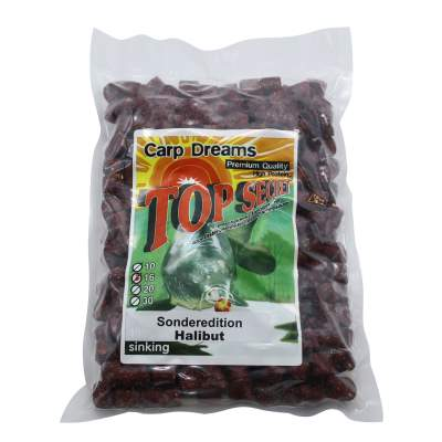 Top Secret Carp Dream Pellets Halibut 1kg,