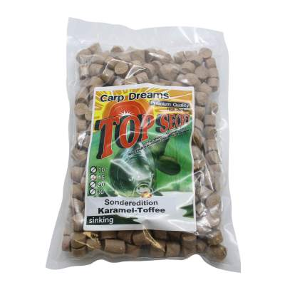 Top Secret Carp Dream Pellets Karamell-Toffee 1kg Carp Pellet