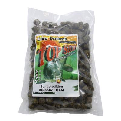 Top Secret Carp Dream Pellets Muschel/GLM 3kg,