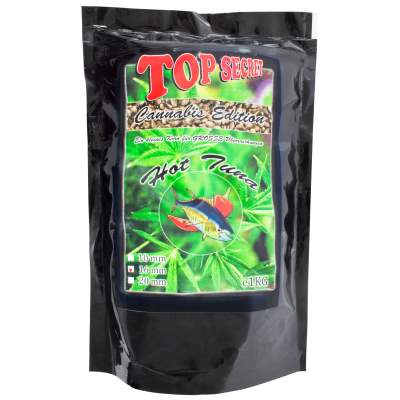 Top Secret Cannabis-Edition Boilies 16mm Hot Tuna 1Kg Boilie