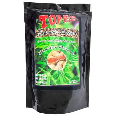 Top Secret Cannabis-Edition Boilies 20mm Roasted Peanut 1Kg,