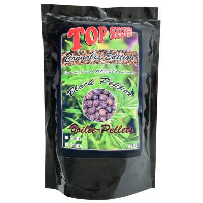 Top Secret Cannabis-Edition Boiliepellets 8mm Black Pepper 1Kg Boilie