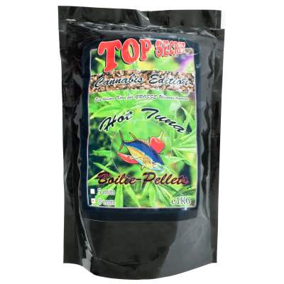Top Secret Cannabis-Edition Boiliepellets 8mm Hot Tuna 1Kg