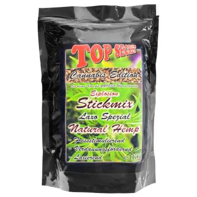 Top Secret Cannabis-Edition Stickmix Natural Hemp 1Kg
