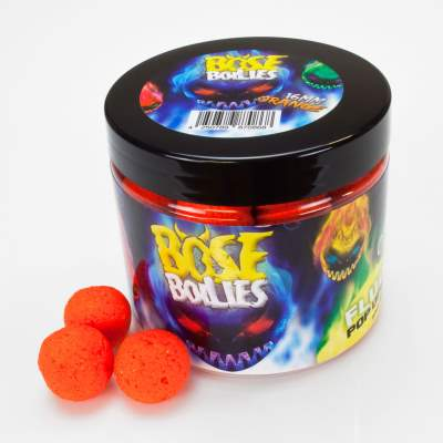 BAT-Tackle Böse Boilies Fluo Pop Ups Pop-Up Boilie, 80g - 16mm - Blazing Orange