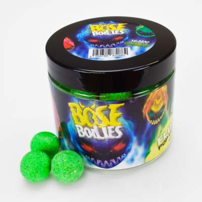 BAT-Tackle Böse Boilies Fluo Pop Ups Pop-Up Boilie, 80g - 16mm - Blazing Green