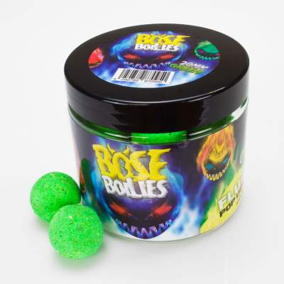 BAT-Tackle Böse Boilies Fluo Pop Ups 20mm Blazing Green (grün), 80g, 20mm, Blazing Green