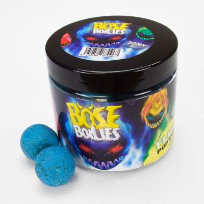 BAT-Tackle Böse Boilies Fluo Pop Ups 20mm Blazing Blue (blau)