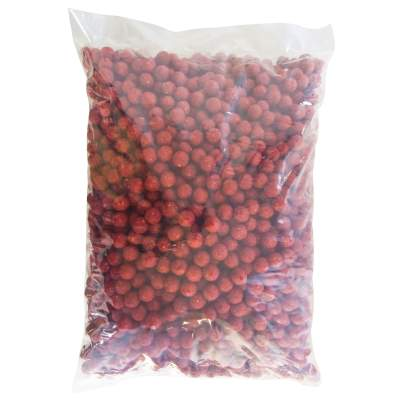 BAT-Tackle Böse Boilies, 10kg - 18mm - Angry Strawberry - red