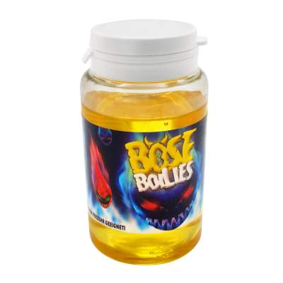 BAT-Tackle Böse Boilies Dip Flüssig Lockstoff, 150ml - Peach & Cream - snow white