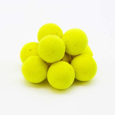 BAT-Tackle Böse Boilies Pop Ups 15mm PopUp Boilie, 50g - 15mm - Banana & Toffee - yellow