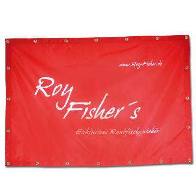 Roy Fishers Promotion Banner