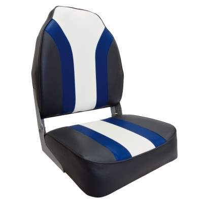 Waterside High Back Pro Bootssitz (Boat Seat) Blueline, 75107CBW