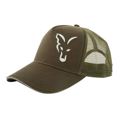 Fox Trucker Cap Green & Silver, Trucker Cap Green & Silver