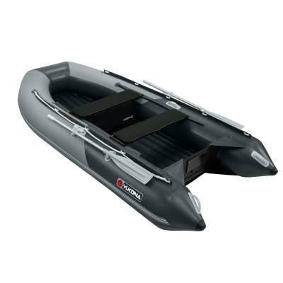 YUKONA 350 Inflatable Boat Schlauchboot, 3,50m - TK600kg - Grey + Dark grey