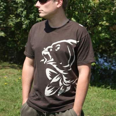 Nash T-Shirt Brown XLarge