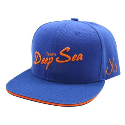 Team Deep Sea Snapback Cap Team Deep Sea, Blau-Orange