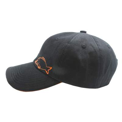 BAT-Tackle Base Cap BAT Black-Orange, Schwarz - Orange