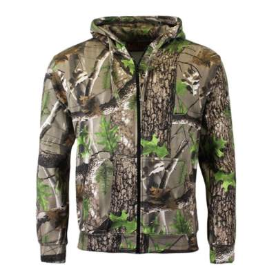Game Trek Camo Realtree Kapuzen Hoodie mit Zipper Gr. M