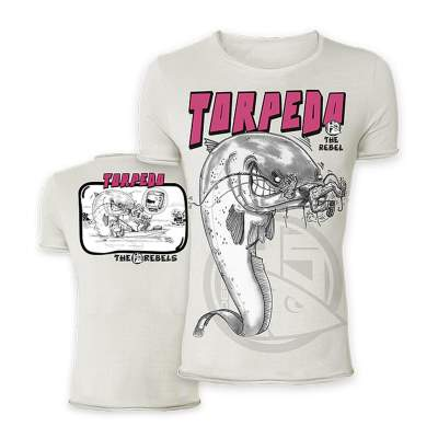 Hotspot Design The Rebels Collection T-Shirt Torpedo Gr. M