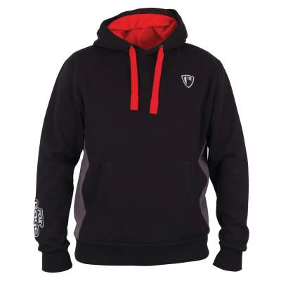 Fox Rage Black  / Grey Ribbed Hoody M