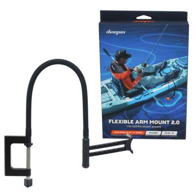 Deeper Flexible Arm Mount 2.0 für Deeper Smart Sonar, Deeper Flexibler Montagearm - Flexible Arm Mount 2.0